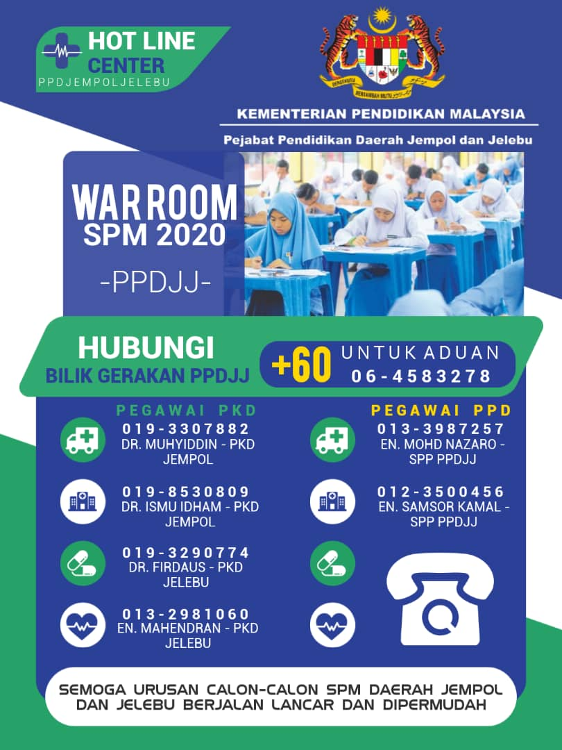 WAR ROOM SPM 2020