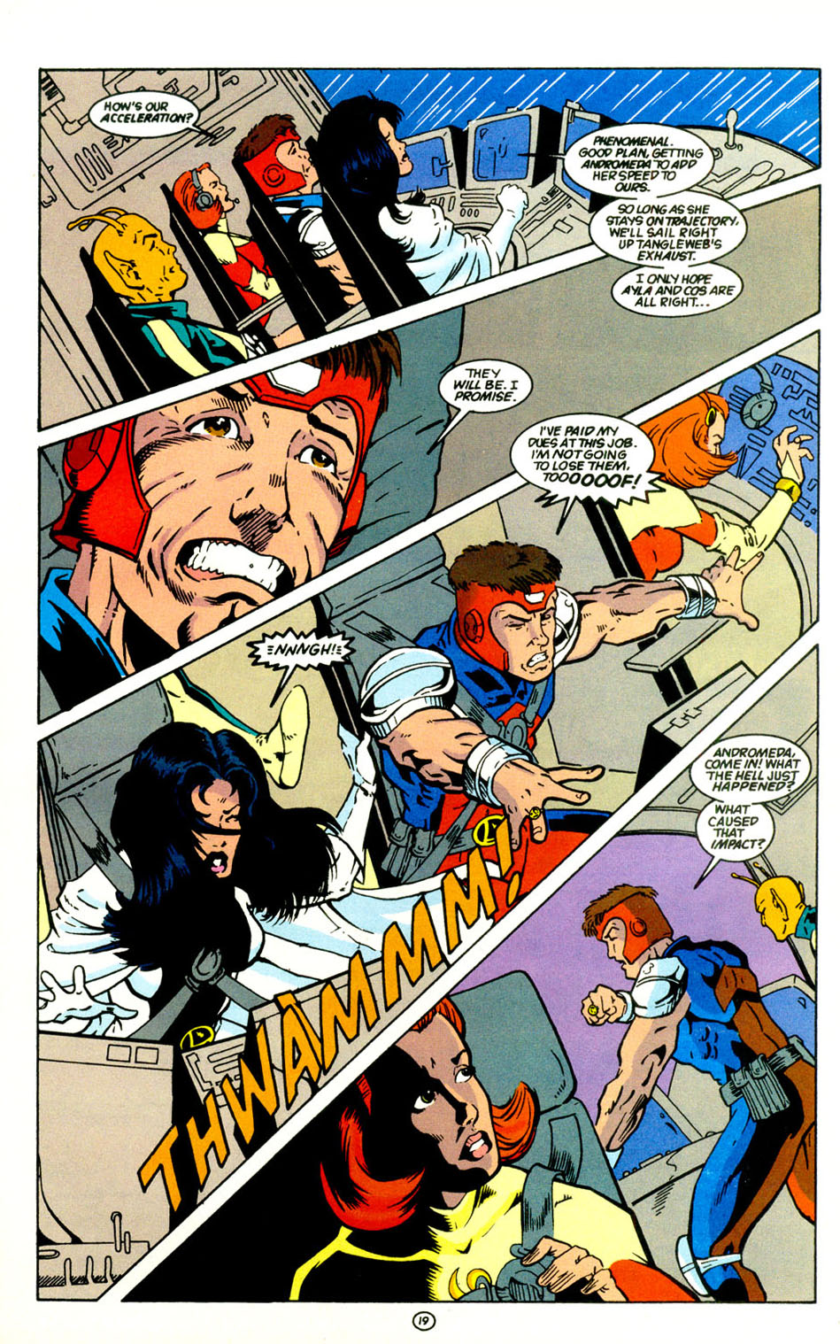 Legion of Super-Heroes (1989) 67 Page 19