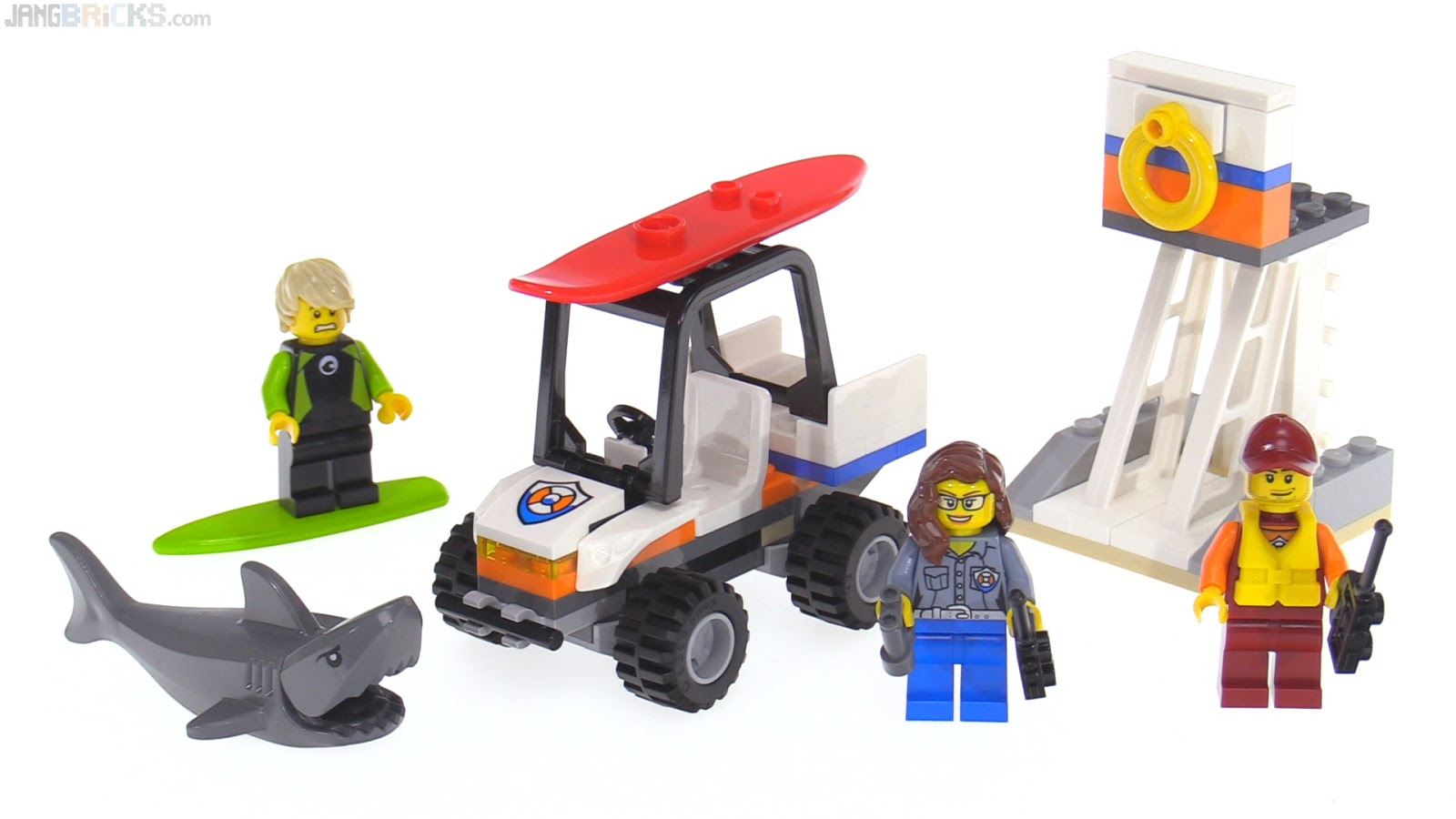 LEGO City Coast Guard Starter Set Review 60163