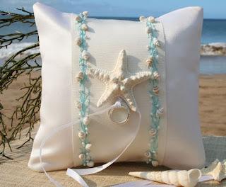 Cuscino con stella marina