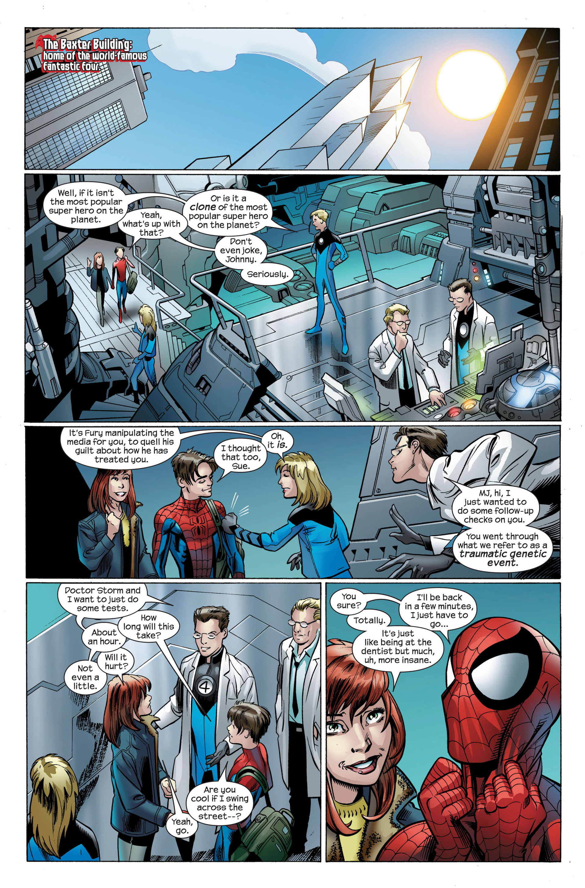 Read online Ultimate Spider-Man (2000) comic -  Issue #106 - 8