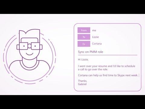 Cómo Usar Cortana para programar Reuniones en el calendario