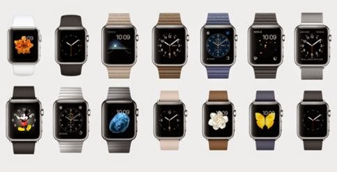 Model Apple Watch