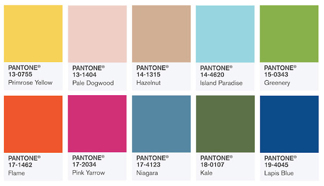 Colors Pantone 2017 Of The Year
