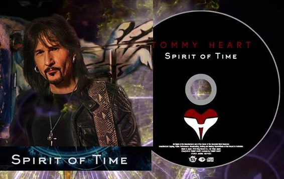 TOMMY HEART (Fair Warning) - Spirit Of Time [Japanese Edition +2] (2016) inside