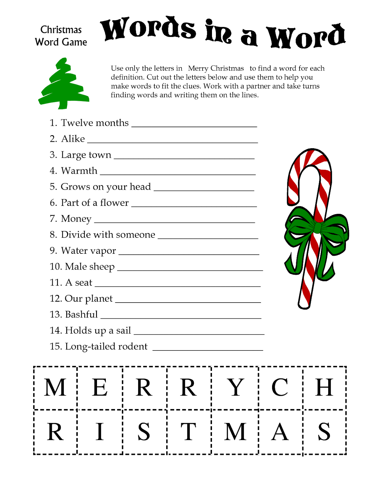 photo about Printable Christmas Games referred to as Printable Xmas Game titles - High definition Wallpapers Web site