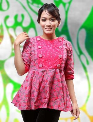 Model Baju Kerja Dari Batik Untuk Wanita Hamil