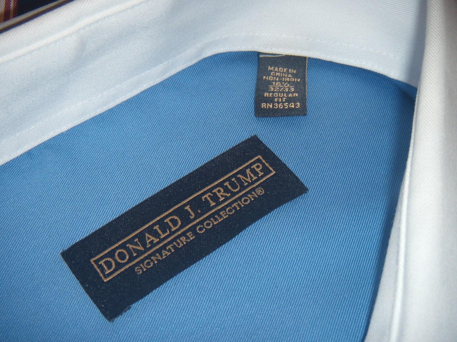 Donald Trump Shirts Signature Collection