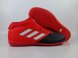 jual sepatu futsal Adidas Ace 17.3 PrimeMesh IC - Red Limit
