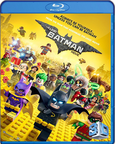 The LEGO Batman Movie [2017] [BD25] [Latino] [3D]