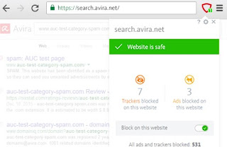 estensione Avira Browser Safety