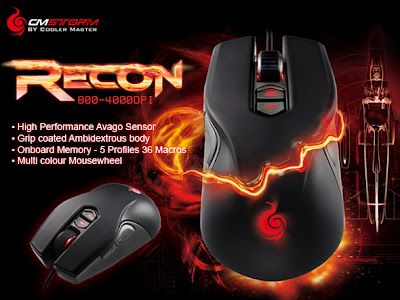 21444f9cc0d Laptop Specification: Cooler Master CM STORM Recon Real Gaming Mouse