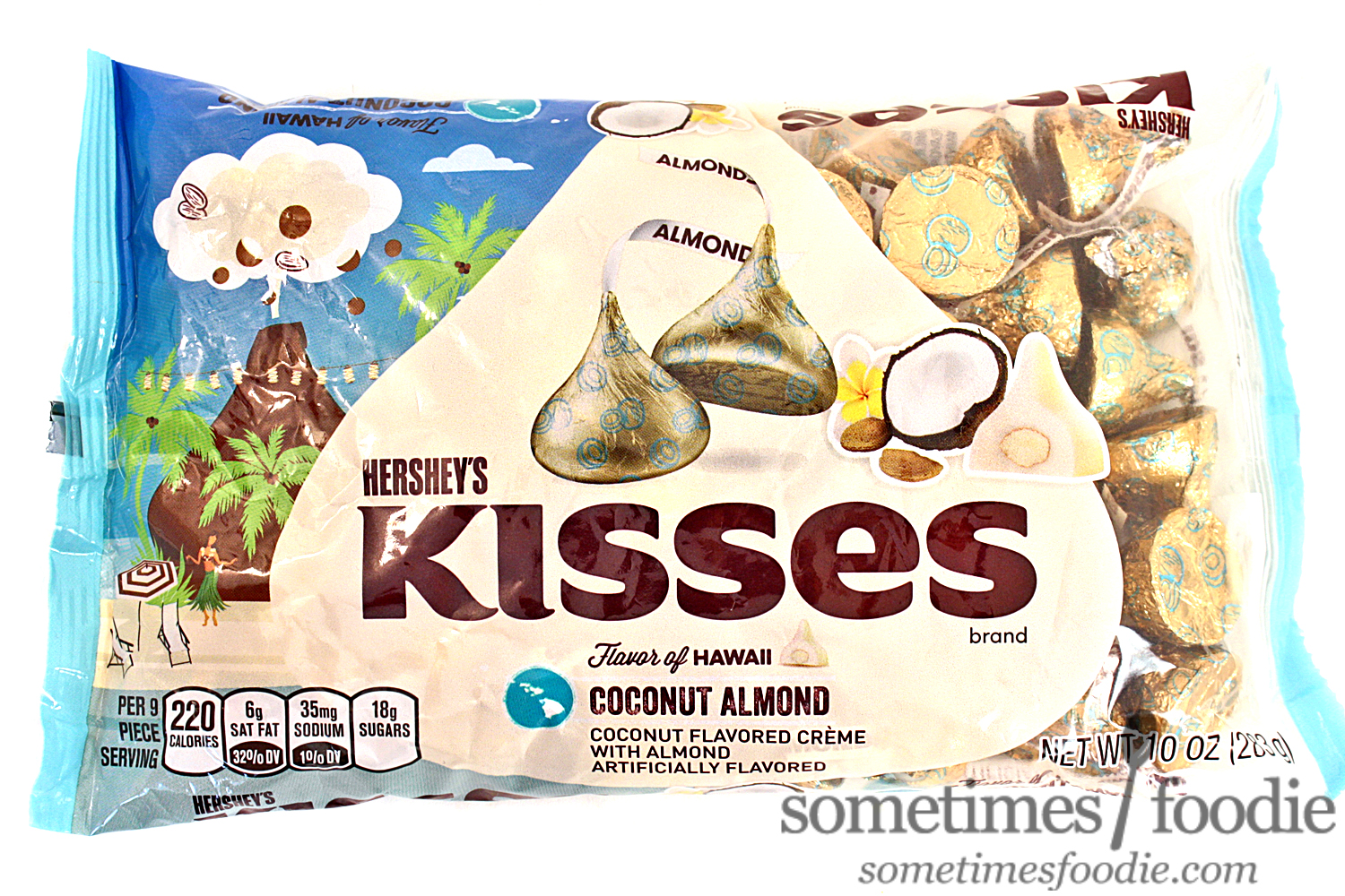 Sometimes Foodie: Coconut Almond Flavor of Hawaii Kisses - CVS