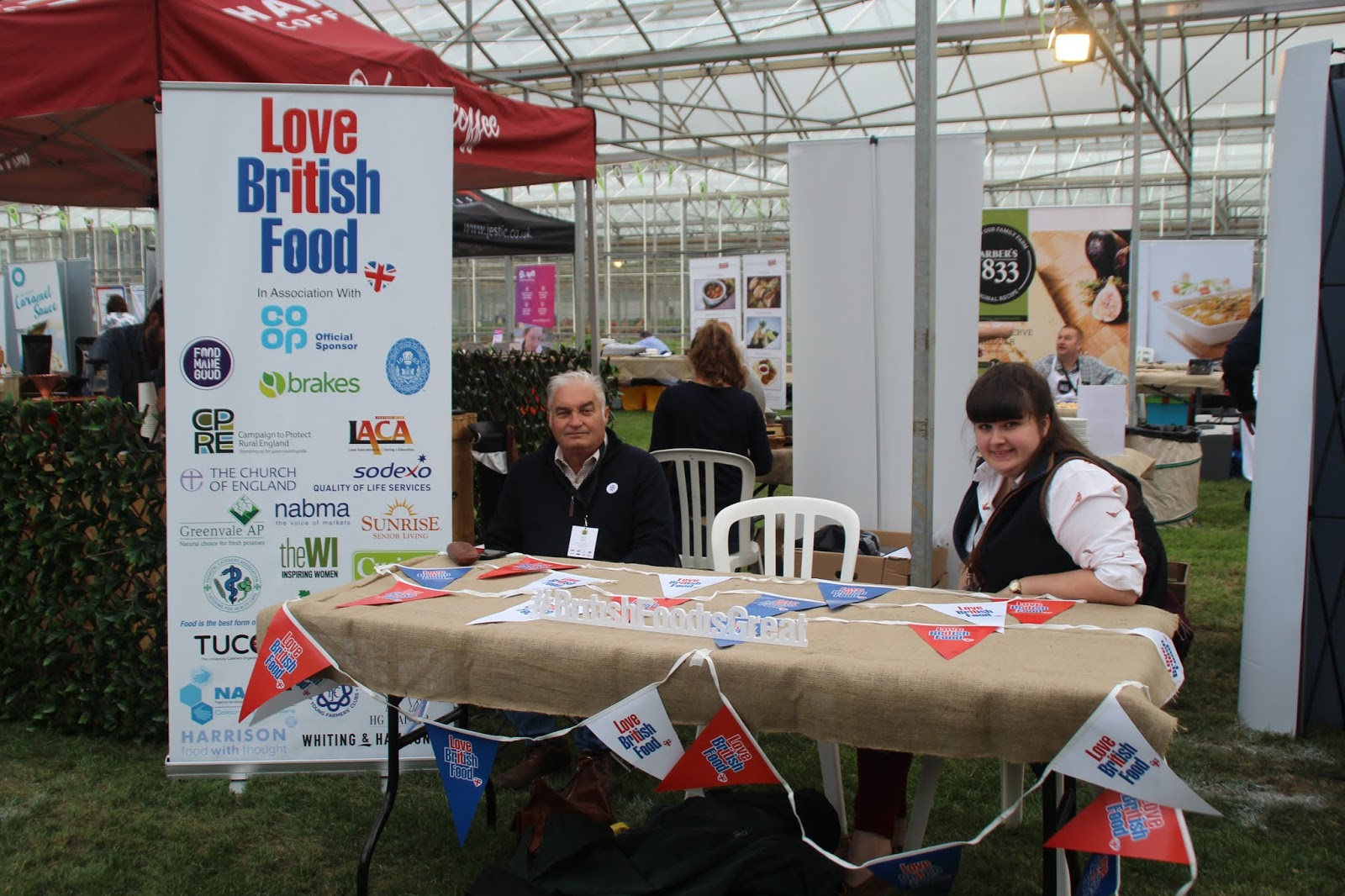 36a4a03aafb It was really encouraging speaking to lots of the chefs at the event as so  many of them were really passionate about using British ingredients  wherever ...