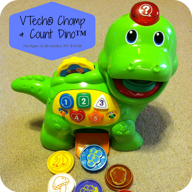 VTech® Chomp & Count Dino™ Review
