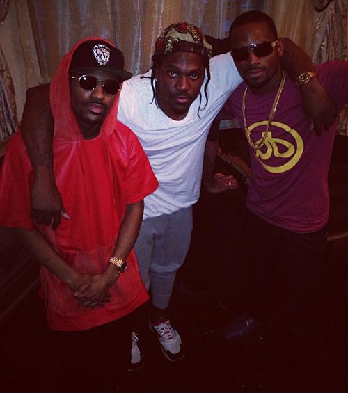 """856ee4b8fd08 Celebrity Sole Watch. Kendrick Lamar in the Nike Zoom Rookie """"Galaxy"""