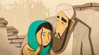 Cena do filme A Ganha-Pão, animação que narra a história de uma garota no Afeganistão.