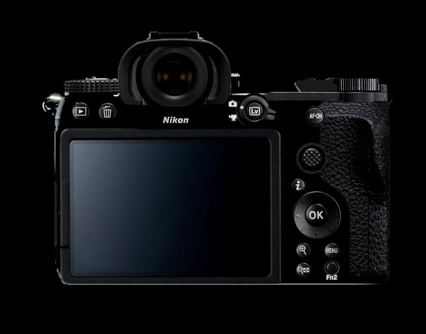 Схема расположения органов управления на задней панели беззеркальной камеры Nikon, автор Oldfashioned_aj
