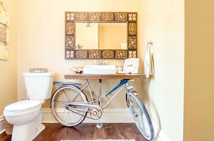 L 39 arte del riciclo in bagno stile bagno for Idee arredamento soggiorno fai da te