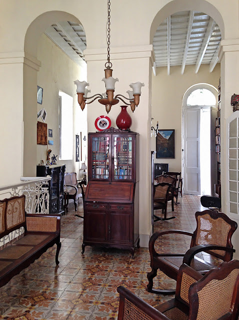 Intérieur de la Casa Novo