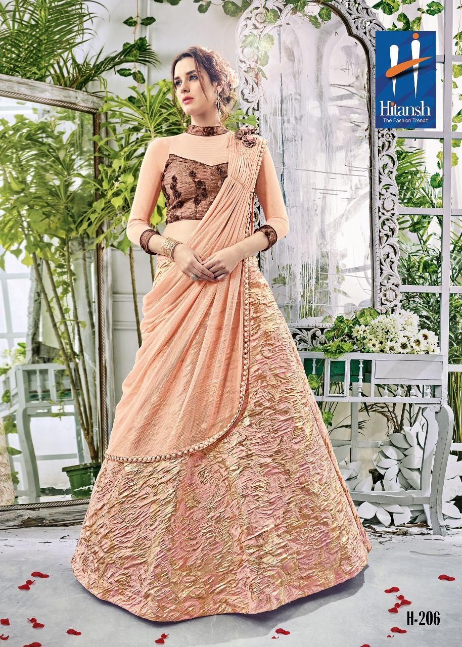 MAAHIRA – New Arrival Designer Silk Western Lehenga Choli