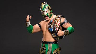 Kalisto Lucha Dragons SmackDown Title United States Neville