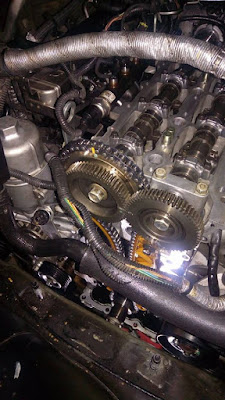 Seting timing chain vs timing belt