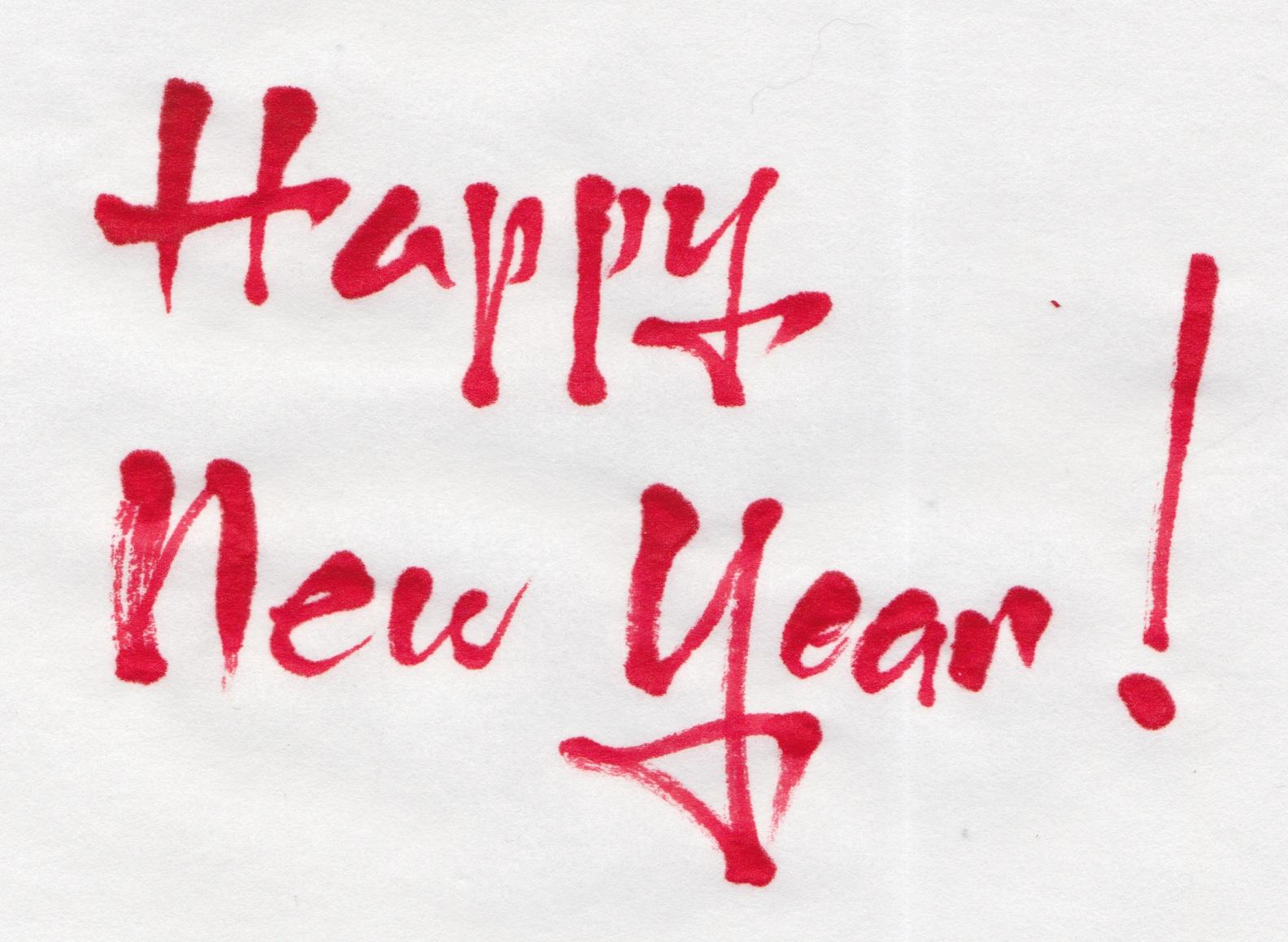 Margaret Shepherd: Calligraphy Blog: Happy New Year