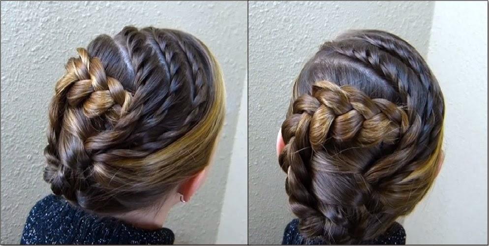 Peinados Semirecogidos Con Trenzas Para Ninas Peinados Con Estilo