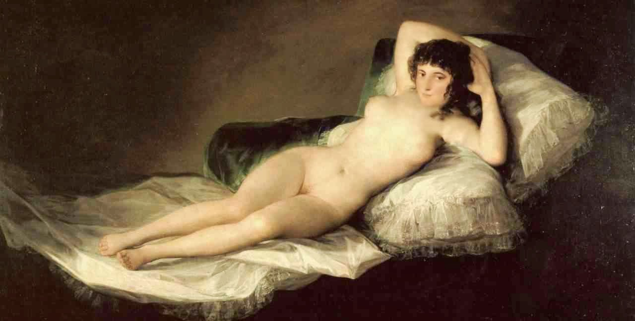 Artemisia Está Viva Maja Desnuda