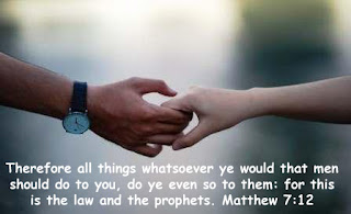 People, Peace and Paradise, Bible Memory Verse Matthew 7:12,