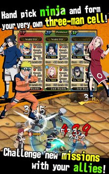 Ultimate Ninja Blazing v1.5.2 Mod Apk (Damage + HP)
