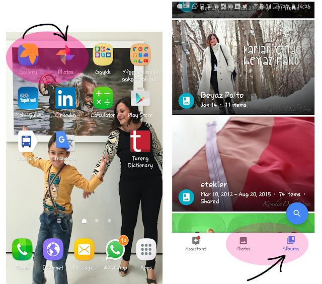 google photos, uygulama, app, review, dikiş blog, blog notları
