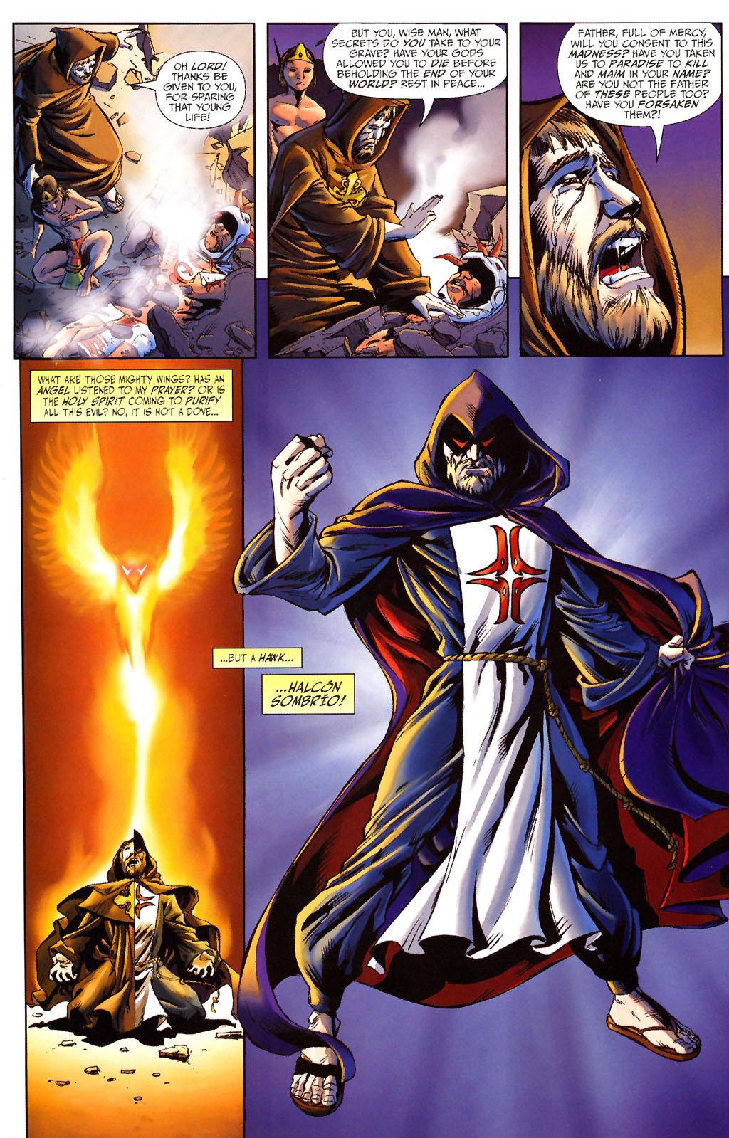 Read online ShadowHawk (2005) comic -  Issue #13 - 7
