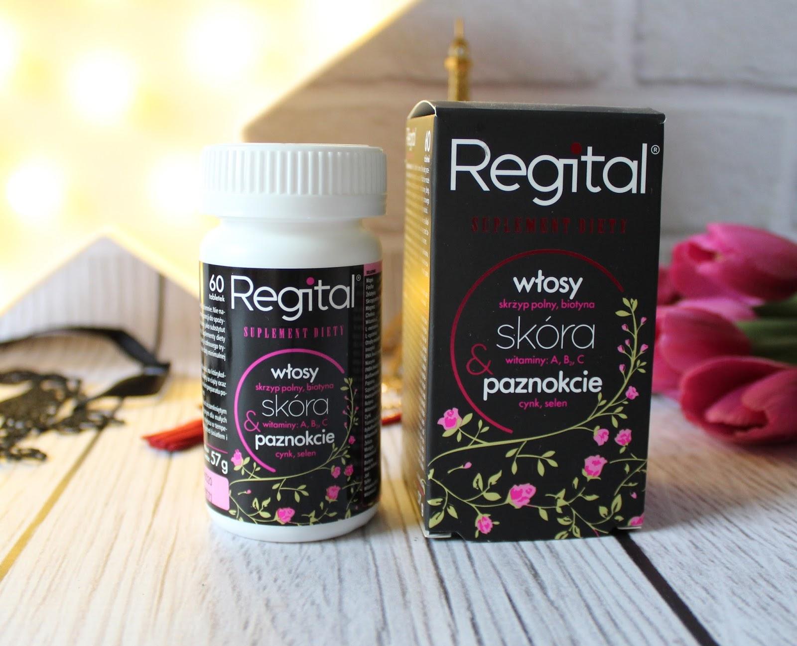 Zdrowa skóra, włosy i paznokcie - REGITAL
