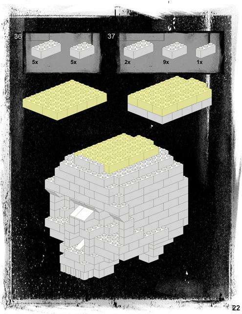 Bonus Lego Skull Instructions