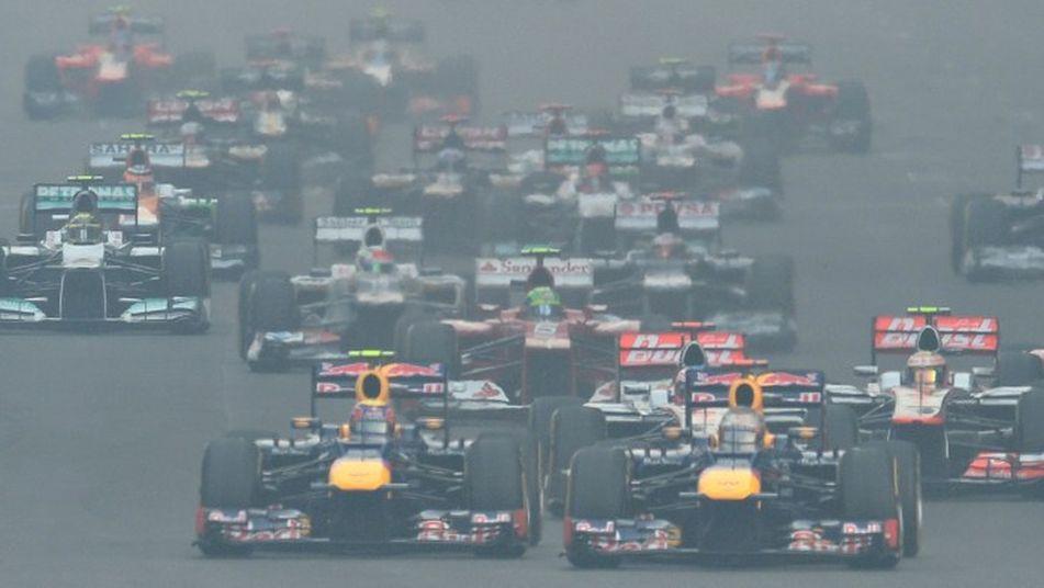 Los Red Bull al frente