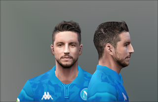 PES 6 Faces Dries Mertens by Don_rxf