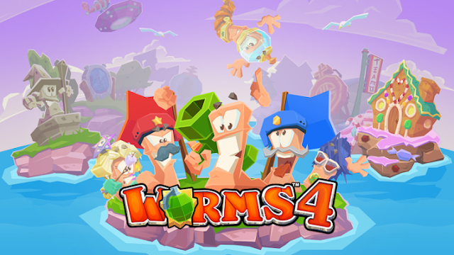 Worms 4 MOD APK [Unlimited Money] With OBB Data - Free Download