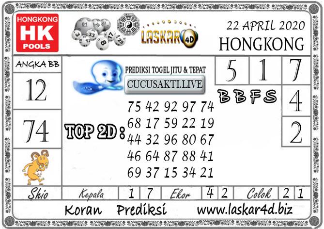 Prediksi Togel HONGKONG LASKAR4D 22 APRIL 2020