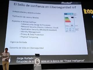 RootedCon 2016 - Jorge Hurtado: ¿Ponemos un sello de certificación de seguridad?