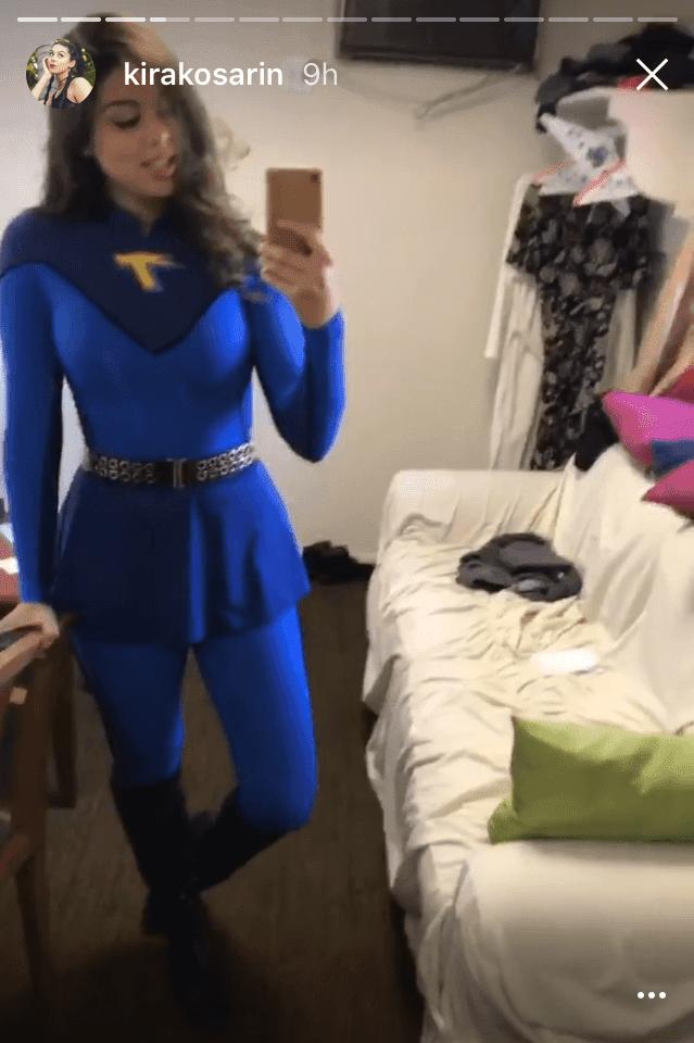 nora thunderman costume