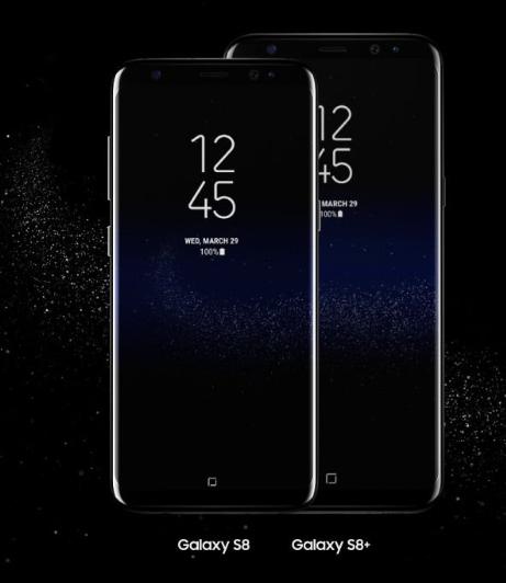 Galaxy S8 along side S8 plus