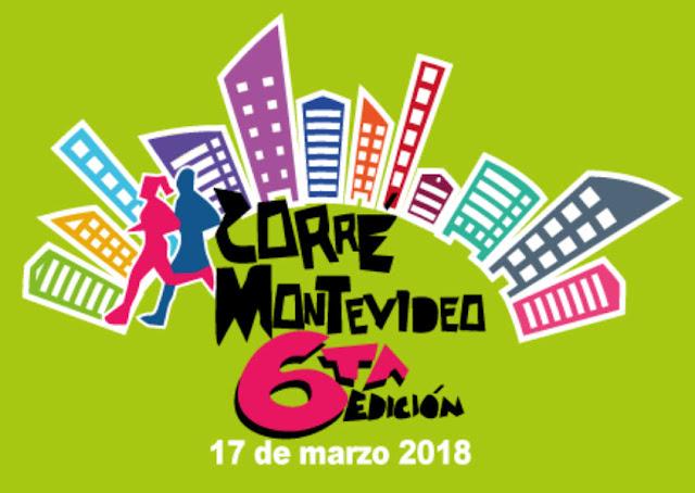 Media maratón Corré Montevideo (21k, 10k - 5k - Kibón, 17/mar/2018)