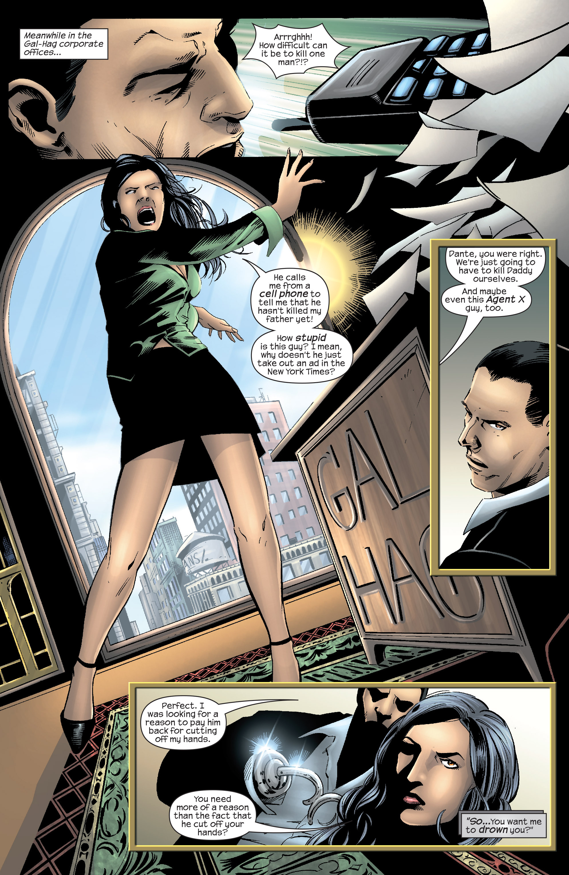 Read online Agent X comic -  Issue #9 - 11