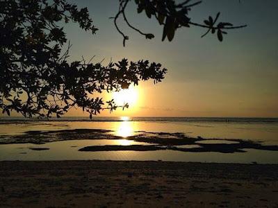 sunset di gili trawangan