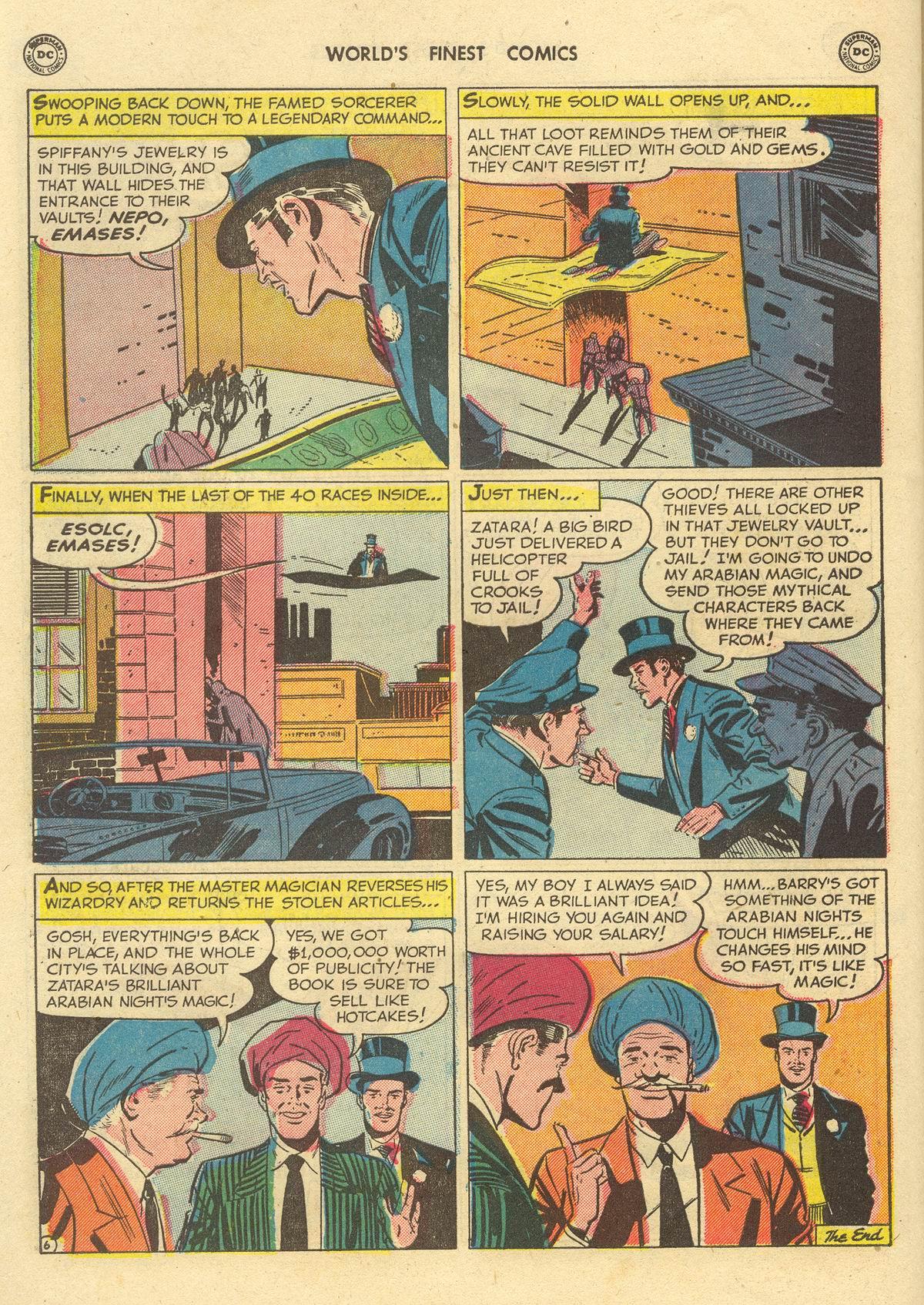 Read online World's Finest Comics comic -  Issue #51 - 60