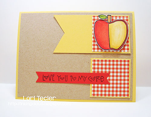 Love You to My Core card-designed by Lori Tecler/Inking Aloud-stamps from Paper Smooches