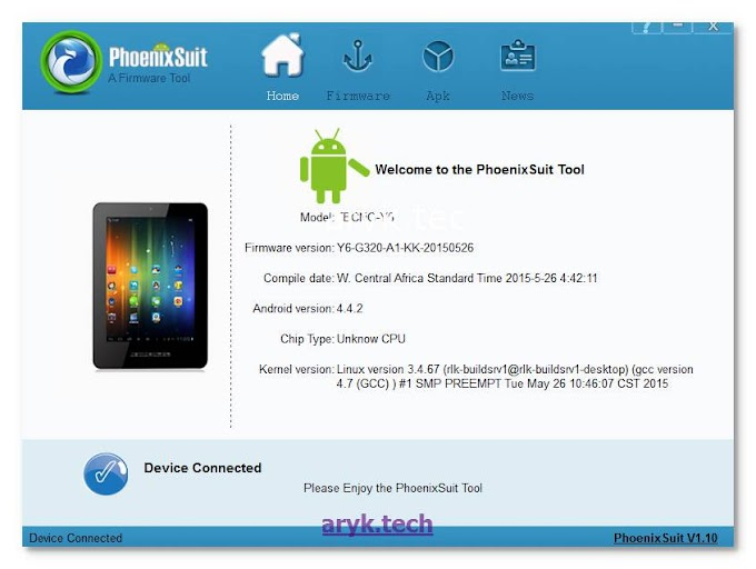 How to Flash Stock Firmware On Allwinner Devices Using PhoenixSuit
