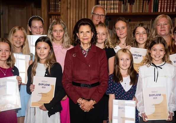Mayflower 2019 diplomas to Students from Adolf Fredrik's music classes